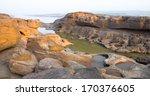 sam pan bok stone in the shape... | Shutterstock . vector #170376605