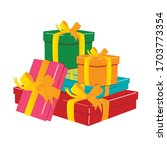 happy birthday .illustration of ... | Shutterstock .eps vector #1703773354