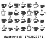 Coffee And Tea Beverage Cups...