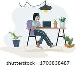 flat style vector illustration...   Shutterstock .eps vector #1703838487