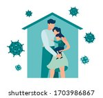 vector illustration  self... | Shutterstock .eps vector #1703986867