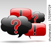 question exclamation | Shutterstock . vector #170399729