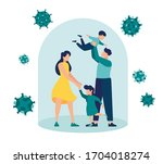 vector illustration  self... | Shutterstock .eps vector #1704018274