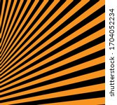 Black Orange Abstract Striped...