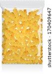fusilli pasta pack vector... | Shutterstock .eps vector #170409647