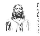 Jesus Christ  Graphic Portrait...