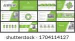 presentation templates ... | Shutterstock .eps vector #1704114127