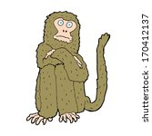 cartoon monkey | Shutterstock . vector #170412137