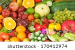 fruits and vegetables | Shutterstock . vector #170412974