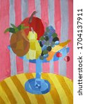 Colorful Abstract Still Life...