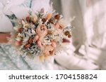 Wedding Bouquet Of Dried...