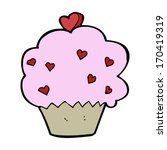 cartoon cupcake | Shutterstock . vector #170419319