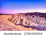 Badlands View From Zabriskie...