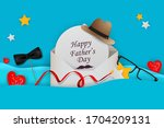 happy fathers day template... | Shutterstock .eps vector #1704209131