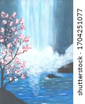 Chinese Painting  Spring...