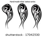 tribal tattoo | Shutterstock .eps vector #17042530