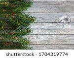 Border Of Christmas Tree...