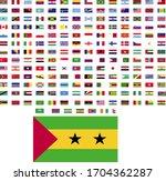 flags of the world. world flag... | Shutterstock .eps vector #1704362287