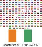 flags of the world. world flag... | Shutterstock .eps vector #1704363547