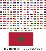 flags of the world. world flag... | Shutterstock .eps vector #1704364024