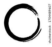 circle ink brush stroke ...   Shutterstock .eps vector #1704489607