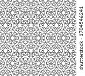minimal islamic ornament...   Shutterstock .eps vector #1704546241