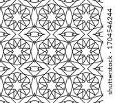 minimal islamic ornament...   Shutterstock .eps vector #1704546244