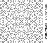 minimal islamic ornament... | Shutterstock .eps vector #1704546301