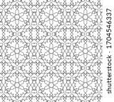 minimal islamic ornament... | Shutterstock .eps vector #1704546337