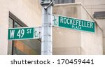 rockefeller plaza and 49 st... | Shutterstock . vector #170459441
