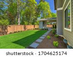 Fantastic new backyard with...
