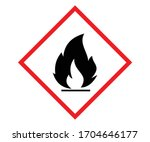Standard Pictogram Of Flammabl...