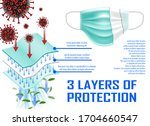 Medical Mask With 3 Layers Of...