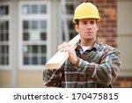 construction  serious home... | Shutterstock . vector #170475815