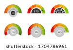 credit score indicators with...   Shutterstock .eps vector #1704786961