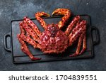 King Crab With Lemon And...