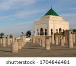 Morocco. the great mausoleum of ...