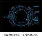 sci fi futuristic user... | Shutterstock .eps vector #170485301