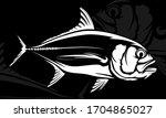 Fishing Emblem Of  Permit...
