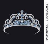 Gemstone Tiara  Sapphires And...