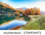 Spectacular Autumn View Of...