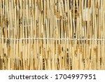 Mats Of Dry Reeds As A...