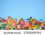 Colorful Assortment Of Candies. ...