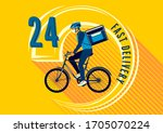 delivery of goods for the... | Shutterstock .eps vector #1705070224