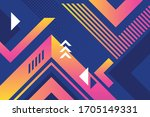 bright juicy colors background... | Shutterstock .eps vector #1705149331