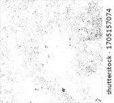 vector grunge black and white... | Shutterstock .eps vector #1705157074