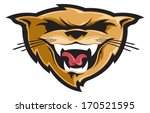 aggressive,animal,cartoon,cat,cougar,fangs,graphic,head,icon,icons,illustration,lion,mascot,mountain,nature