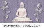 3d Illustration Of Buddha...
