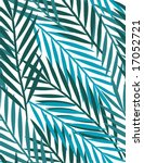 tropical leaves   seamless... | Shutterstock .eps vector #17052721