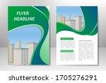 green vector template design... | Shutterstock .eps vector #1705276291